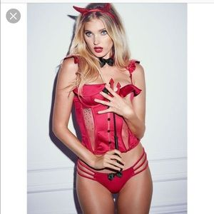 Victoria's Secret Sexy Little Devil Costume Small
